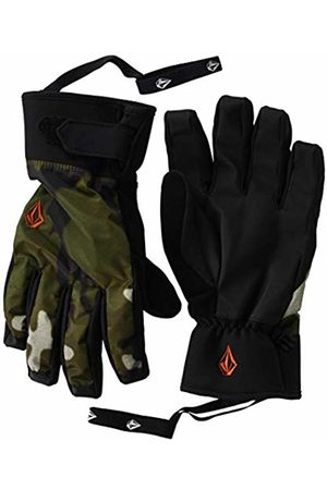 Volcom Men's Nyle 2 Layer Nylon Shell Snow Glove - Multi - Medium