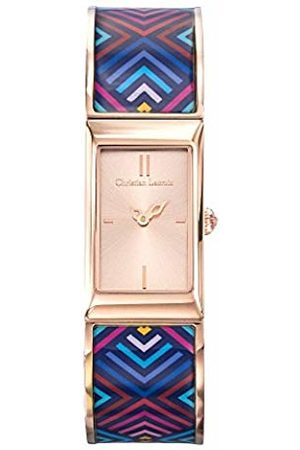 Christian Lacroix Womens Analogue Quartz Watch with Stainless Steel Strap CLWE52
