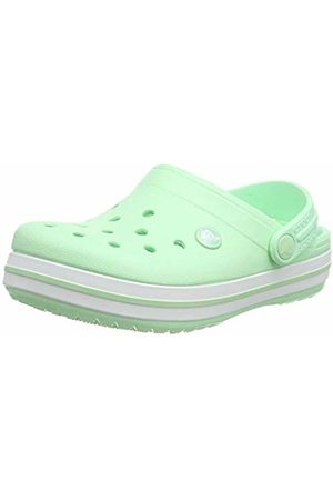 Crocs Crocband Clog K, Unisex-Child Clogs, (Neo Mint 3ti)