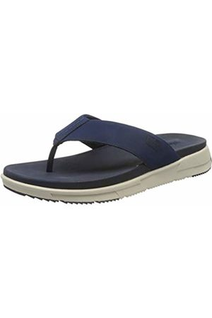 FitFlop Sporty Men's Toe-Thongs Flip Flops, (Midnight Navy 399)