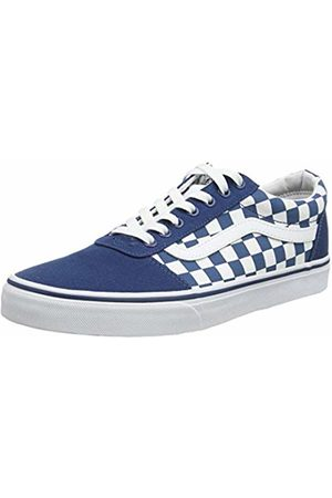 Vans Men's Ward Canvas Trainers, ((Checkerboard) Sailor / Vh1)