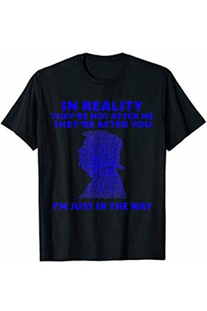 Vishtea Women T-shirts - In Realty They're Not After Me They're After You Trump 2020 T-Shirt