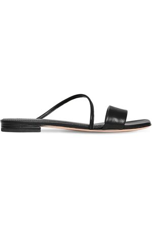 MARA&MINE 10mm Leather Slide Flats
