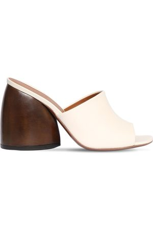 Neous 95mm Leather Slide Sandals