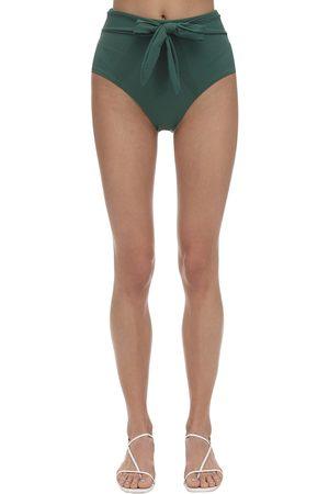 Eberjey Nina Stretch Nylon Piqué Bikini Bottoms