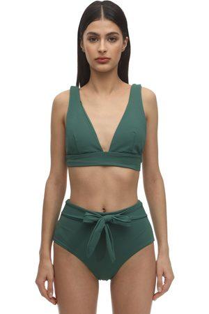 Eberjey Women Bikinis - Vivian Stretch Nylon Piqué Bikini Top