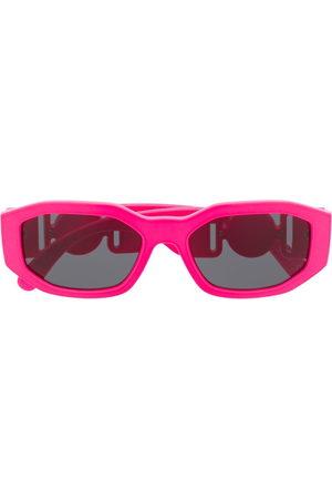 Versace Eyewear Medusa Biggie oval frame sunglasses