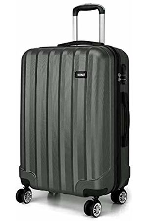 "Kono Carry-on Suitcase Super Lightweight ABS Hard Shell Travel 20"" Hand Luggage with 4 Spinner Wheels ( 20"")"