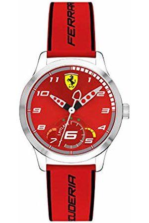 Scuderia Ferrari Unisex Child Analogue Classic Quartz Watch with Silicone Strap 0860004