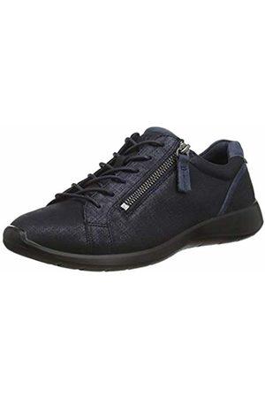 Ecco Women's Soft 5 Low-Top Sneakers, (Marine/Navy)