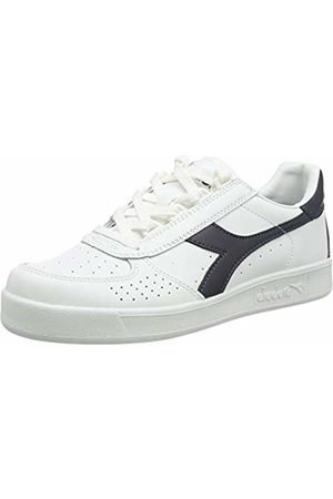 Diadora Women/'s B.Elite L Wide Wn Gymnastics Shoes White//Grisaille C7616 Multicolour 7.5 UK