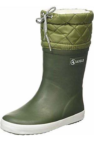 Aigle Unisex Kids' Giboulée Snow Boots, (Kaki 001)