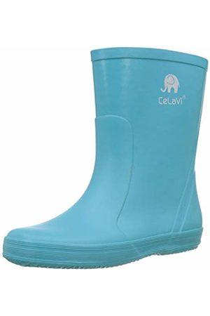 CeLaVi Unisex Kids' Basic Wellies Rain Boat, Turquise