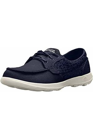 Skechers Women's 15431 Boat Shoes, (Navy)
