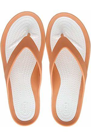 Crocs Women's Swiftwater Flip Flops, (Grapefruit/ 82q)