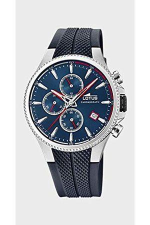 Lotus Mens Chronograph Quartz Watch with Rubber Strap 18621/1