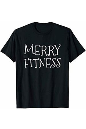 Christmas Fitness Apparel Merry Fitness Christmas Workout Gym Trainer Gift T-Shirt