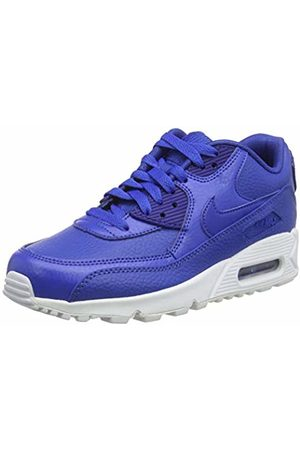 Nike Men's Trainers , air max 90 ltr (gs), multi (game royal/game royal-white)