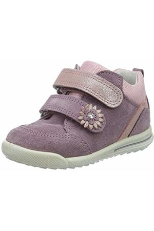 Superfit Baby Girls' Avrile Mini Trainers, (LILA/ROSA 90)