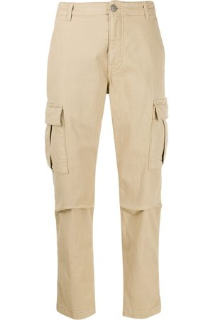 P.a.r.o.s.h. Slim-fit cargo trousers - Neutrals