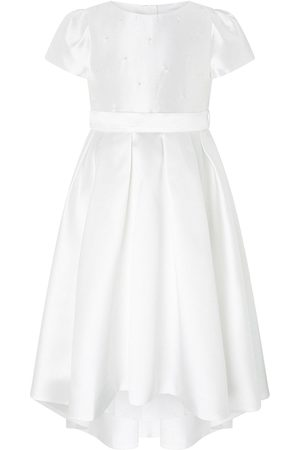 Monsoon Girls Evening Dresses - Girls Henrietta Pearl Embellished Dress