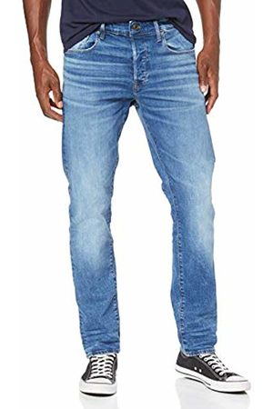 G-Star Men's 3301 Straight Tapered Tapered Fit Jeans Tapered Fit Jeans, (Worn In Azure B631-A795)