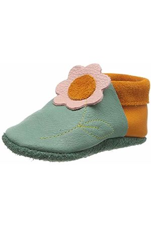 POLOLO Unisex Kids Jasmin Low-Top Slippers, (Grün 448)