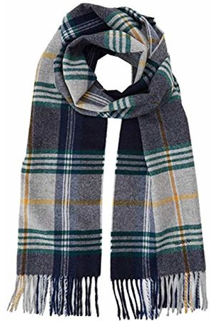 GANT Men's D2. Twill Checked Wool Scarf