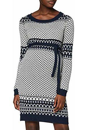 Mama Licious Women's Mljoy L/S Knit Abk Dress