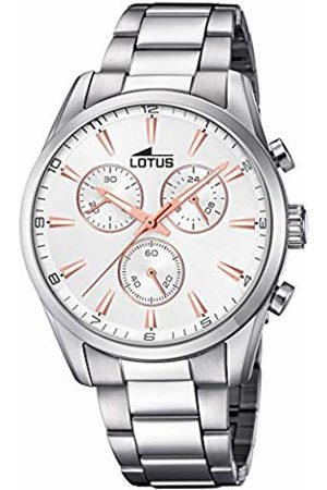 Lotus Mens Chronograph Quartz Watch with Stainless Steel Strap 18365/5