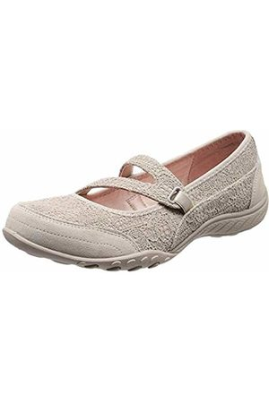 Skechers Women Breathe-Easy-Pretty Swagger Mary Janes, (Natural)