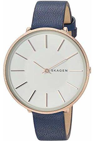 Skagen Womens Analogue Quartz Watch with Leather Strap SKW2723