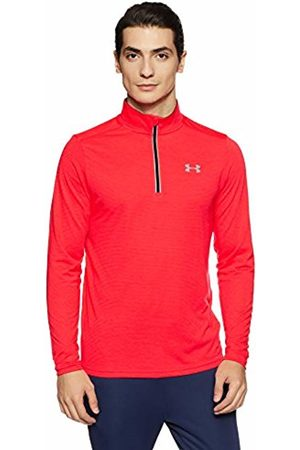 Under Armour Men Threadborne Streaker 1/4 Zip Top, Marathon /Black