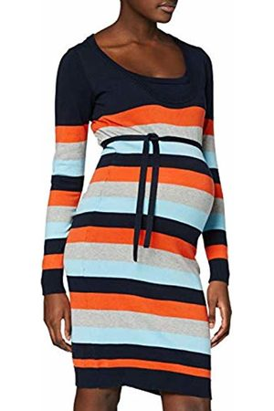 Mama Licious Women's Mlkenna Nell L/s Knit Multi Dress Nf