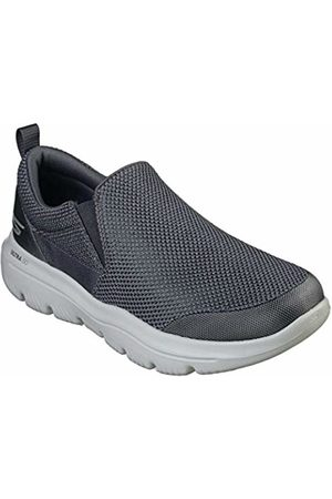 Skechers Go Walk Evolution Ultra-impec, Men's Slip On Trainers, (Charcoal Textile Charcoal)
