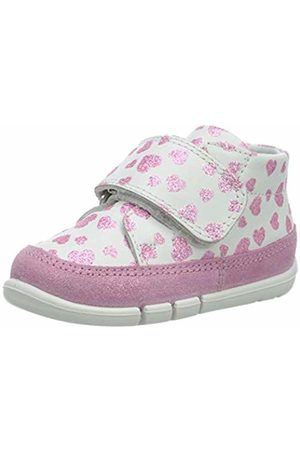 Superfit Baby Girls' Flexy Trainers, (Weiss 10)