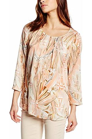 Basler Women's Coral Tunic top with Animal Print Blouse