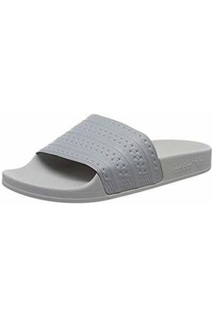 adidas Men's Adilette Beach & Pool Shoes, (Grimed/Grimed/Grpulg)