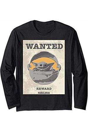 Star Wars The Mandalorian The Child Wanted Poster Long Sleeve T-Shirt