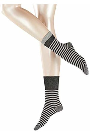 Esprit Women Fold Stripe Socks - 83% Cotton ( 3000), UK 2.5-5 (Manufacturer size: 35-38)