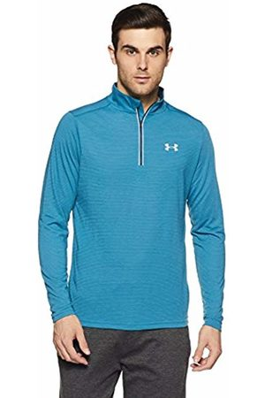 Under Armour Men Threadborne Streaker 1/4 Zip Top, Bayou /True Ink