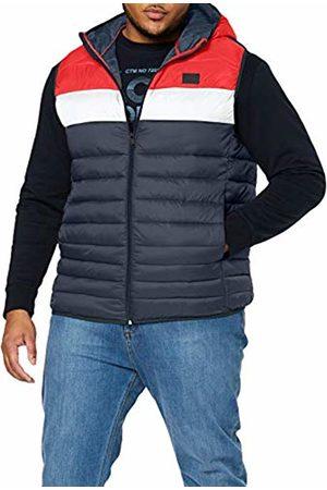Jack & Jones Men's JJEBOMB Body Warmer Hood PS Outdoor Gilet