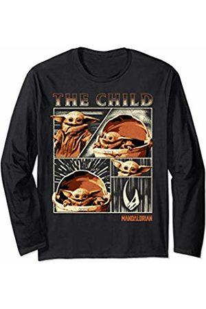 STAR WARS The Mandalorian The Child Panels Long Sleeve T-Shirt