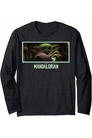 STAR WARS The Mandalorian The Child Stare Logo Panel Long Sleeve T-Shirt