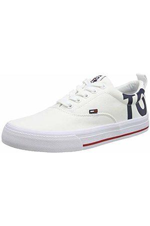 Tommy Hilfiger Women's Wmn Logo Low-Top Sneaker, ( 100)