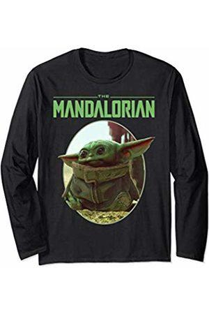 STAR WARS The Mandalorian The Child Circle Portrait Long Sleeve T-Shirt