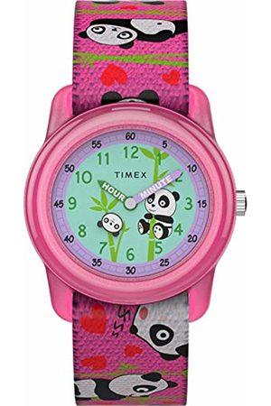 Timex Unisex Child Analogue Classic Quartz Watch with Textile Strap TW7C77100