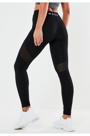 Missguided Active Msgd Airtex Panelled Leggings