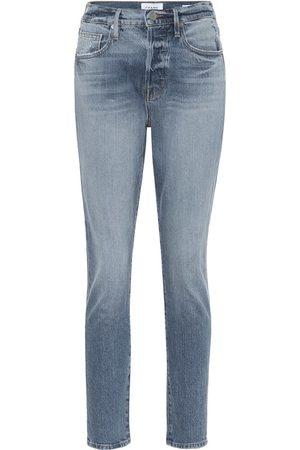 Frame Le Original high-rise skinny jeans