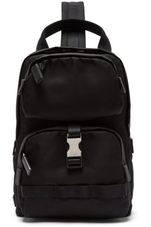 Prada Nylon Single-strap Cross-body Backpack - Mens